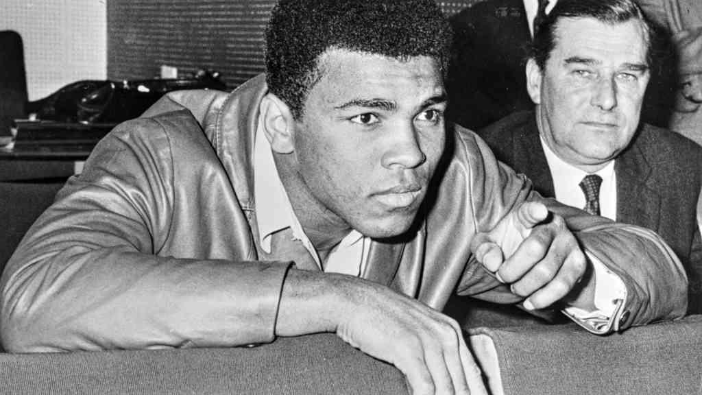 Muhammad Ali in 1966. Source: Wikimedia Commons