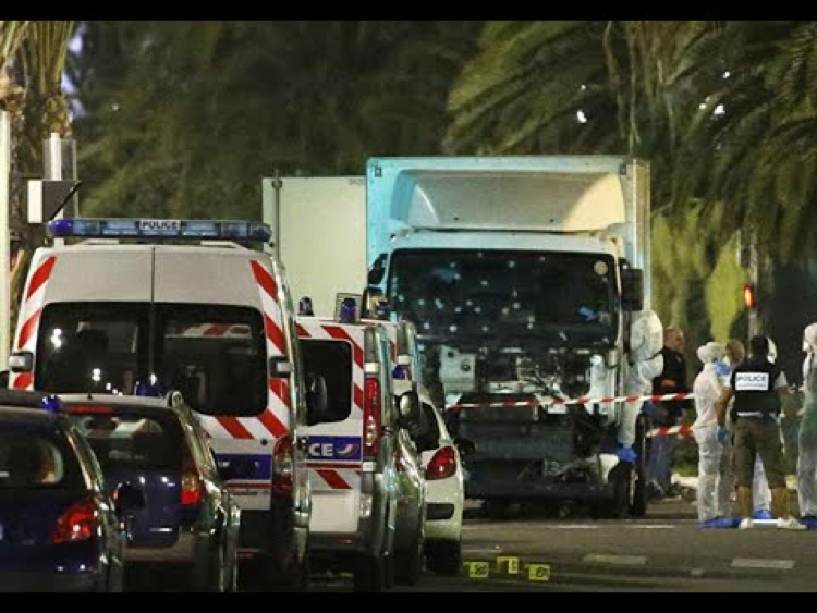 Following the attack in Nice, France. Source: Creative Commons